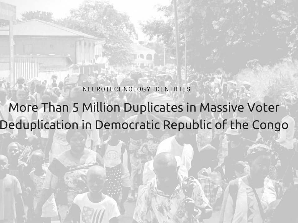 DR Congo Voter Registration Project