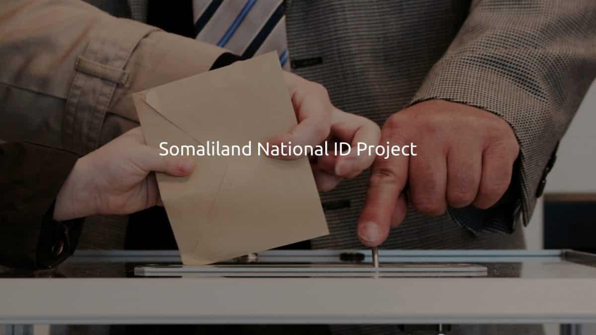 Somaliland National ID Project