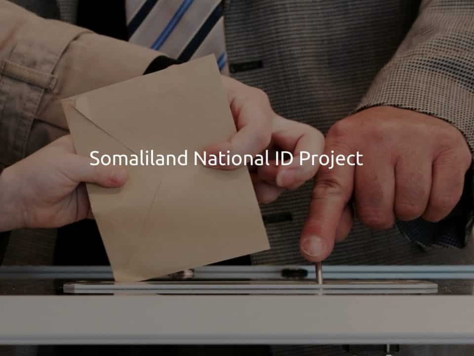 Somaliland National ID Project