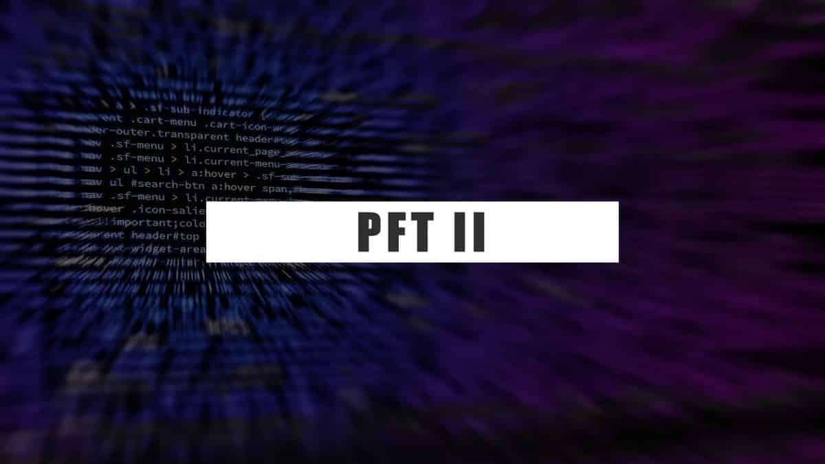 PFT II (Proprietary Fingerprint Template) Evaluation